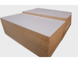 Plywood HPL White Satin 2/S 12/16/18MM 2440x1220