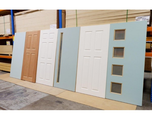 Door Entr Newton 4xpanel 40mm 1980x910/860mm Primed