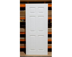 Door Entr Newton 6xpanel 40mm 1980x910/860mm Primed
