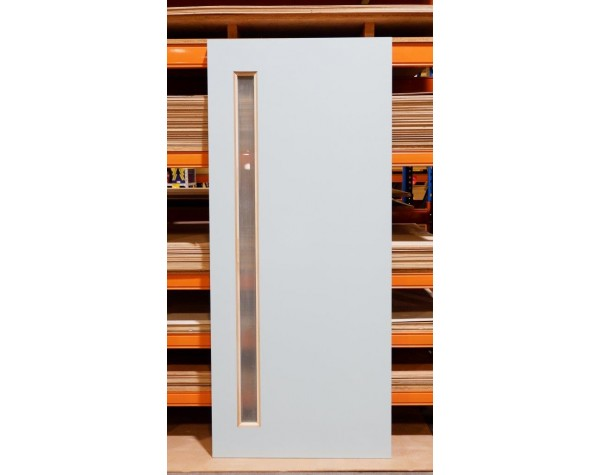 Door Entr Version 1xGlaze 40mm 1980x860mm Primed