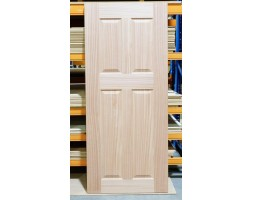 Door Entr Retro 4xpanel 40mm 1980x860mm wood/G