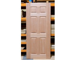 Door Entr Retro 6xpanel 40mm 1980x860mm wood/G