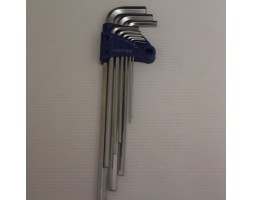 Hex Keys 9PC Set 1.5-10mm Extra Long