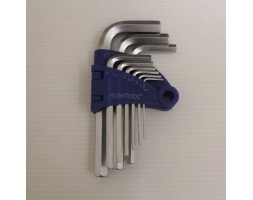Hex Keys 9PC Set 1.5-10mm Norm