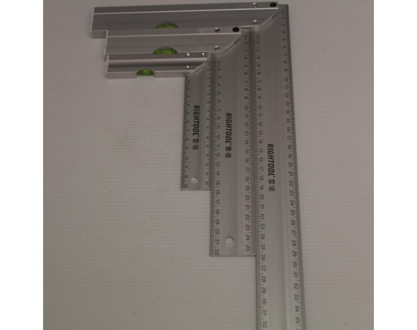 Steel Square 3PC Angle Ruler Set
