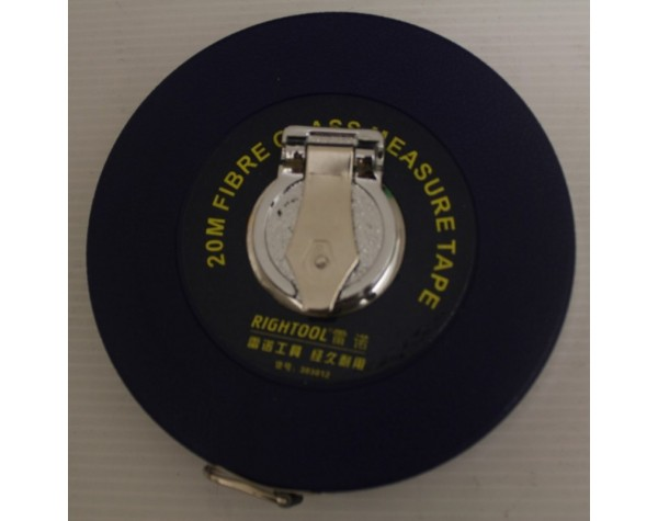 Tape Measurer Fiberglass 20m