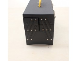 Toolbox Metal Black 2LVLS