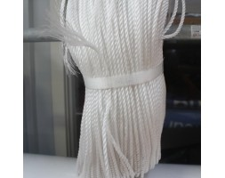 Rope Nylon M4 White LM 1000mm
