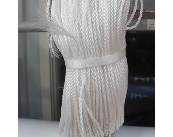 Rope Nylon M4 White LM 1000mm