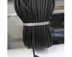 Rope Nylon M8 Black LM 1000mm