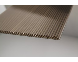 Polycarbonate Twinwall Honeycomb Sheet (Bronze)