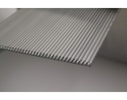 Polycarbonate Twinwall Honeycomb Sheet (Grey)