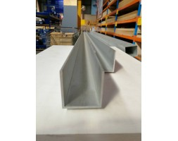 Aluminium U-Channel 3.0mm 50x50mm 6000mm