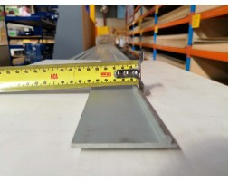 Aluminium H Gutter Shark Fin Attachment 6000mm