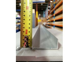 Aluminium U-Channel 2.0mm 65x25mm 6000mm