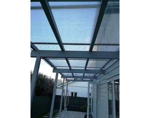 Honeycomb Polycarbonate Roofing Sheet 8mm