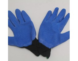 Gloves Black/Blue Pair