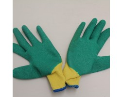 Gloves Green/Yellow Pair