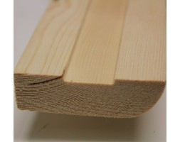 Spruce M22A Bullnose Architrave 60x18x5400mm