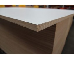 Plywood HPL 2/S Satin White 18MM 2440X1220
