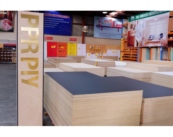 Plywood HPL Black Satin 2/S 18MM 2440X1220