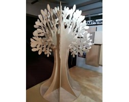 PPR CUT Plywood Tree
